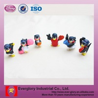 Small cute 3D TPR plastic birds toys, small plastic birds