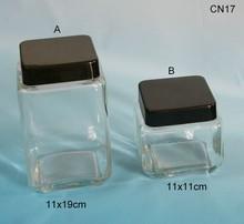 Glass Herb Storage Jars