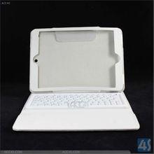 Folio silicone case with bluetooth keyboard for ipad air keyboard case