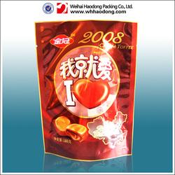 Customized Printed Zip Top Plastic Bag For Food