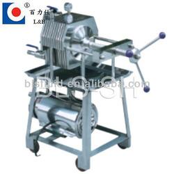 Sanitary Stainless Steel Wine Filter Press