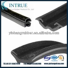 automotive glass run channel flocking rubber profile