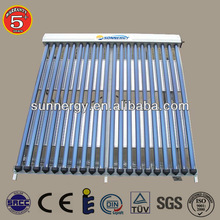 Stainless steel solar pool heat pump collector