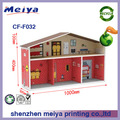 Children cardboard play toy house,DIY paper house