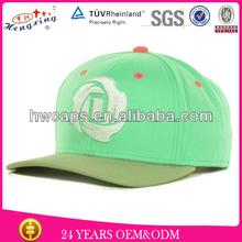 OEM adjustable flat brim snapback cap/high quality custom cheap plain snapback hats