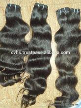 Wholesale supply 8A grade 100% natural indian human hair