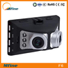"""2.7"""" Dual Camera Car DVR With 180 Degree Wide Viewing Angle"""