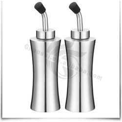 2pcs stainless steel oil cruet