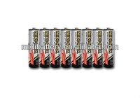PVC aa um-3 1.5V zinc carbon dry battery