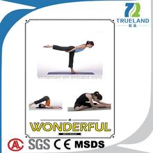 Caoutchouc naturel tapis de Yoga pratique économique chine matelas froid Production fonctionnelle Super bonne pratique