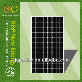 G&P A grade cell mono solar panel 230W,TUV certification,China manufacturer