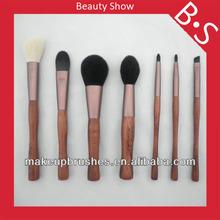 New hot product 7pcs bamboo makeup brush set,bamboo charcoal makeup/cosmetic brush set,makeup brush factory