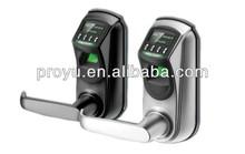 Door Lock Fingerprint OLED Display single latch Convenience Easy to installation Fashion Design L7000