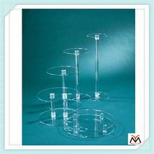 clear acrylic cake stand,acrylic display stand,acrylic cake display