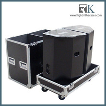 High Quality Beautiful Speaker Flight Case with Wheels