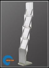 A4 Folded Literature Rack, A4 High Rack, custom cardboard brochure holders