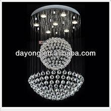 rain drop shape DY6929-7 crystal chandelier crytsal light
