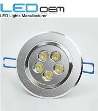 White and Warm White AC85-265V LED 5watt ceiling light