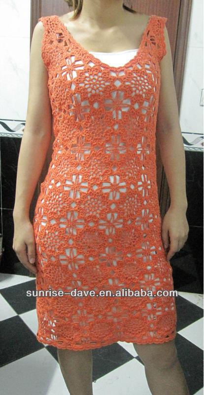 Knitted Crochet Sweater Dress Patterns Women - Buy Crochet ...