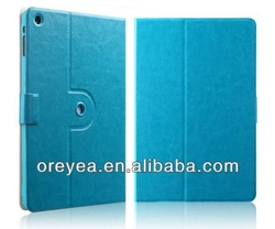new arrival folder leather case with wake / sleep for ipad air