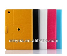 Standing Folio Leather Case 360 Rotating Multi-Angle View for ipad air