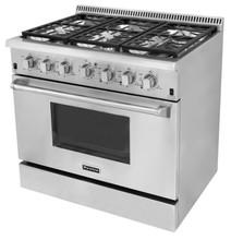 HRG3603U stainless steel royal restaurant gas cooker