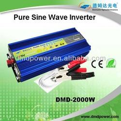 2000w solar panel 24v dc to 220v voltage converter ac inverter