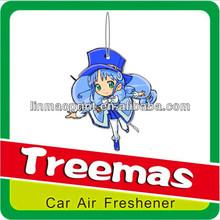 Hanging paper car liquid room air freshener