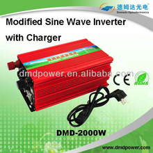 2000W pure sine ups High Quality remote control home inverter with heater CE Compliant
