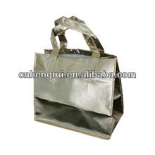 Recyle folding shopping nonwoven bag