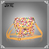 Floral printed shoulder bags for teenagers girls
