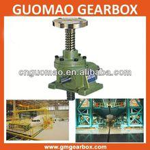 Worm gear electric or manual lifting jacks
