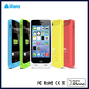 mobile phone battery cases for iPhone 5C real 2400mah capacity with MFI certification