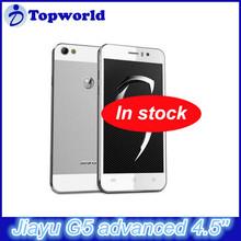 New G5 Jiayu Mobile Phone 3G Android 4.2 MTK6589T Quad core 1.5GHz OTG 4.5 Inch Gorilla Glass Screen 2GB RAM 32GB ROM 13.0MP