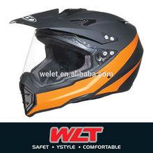 Dirt Bike Helmet wlt-128 New design Matt Black/4#