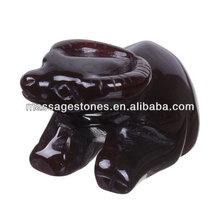 "Wholesale 2.4"" Carnelian Carved Buffalo Onyx Animal Figurines"