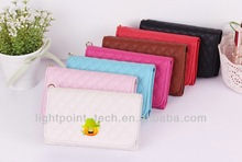 wallet card-slot pu leather cell mobile phone case pu wallet mobile phone case wallet leather case