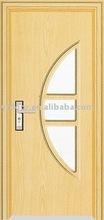 pvc door pictures with glass (YF-M01)