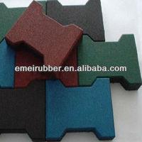 self-adhesive rubber flooring