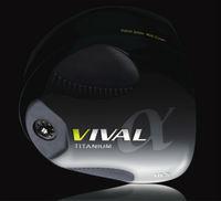 Vival-alpha High Performance TVC Titanium Casting Golf Driver Head in Japan