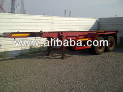 Used 20' Skeletal Trailer
