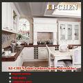 cocina de madera sólida del gabinete
