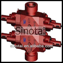 Low price!!! API 16A Double Ram BOP Blowout Preventer