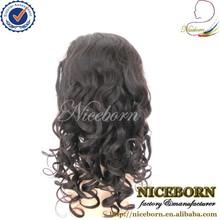 Loose curl peruvian full lace wig natural cheap aliexpress hair full lace wig