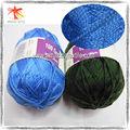 100% 2 acrylique fils de laine de cachemire plis