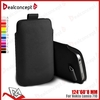 Wholesale Mobile Phone Carry Leather Bag for Nokia 710
