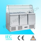 Counter top stainless steel refrigerated salad bar