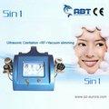 portátil de ultrasonido facial y el cuerpo que adelgaza la máquina