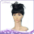 Fashion spiky kanekalon synthetic hair wig