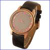 Designer quartz japan movt leather brand ladies watches